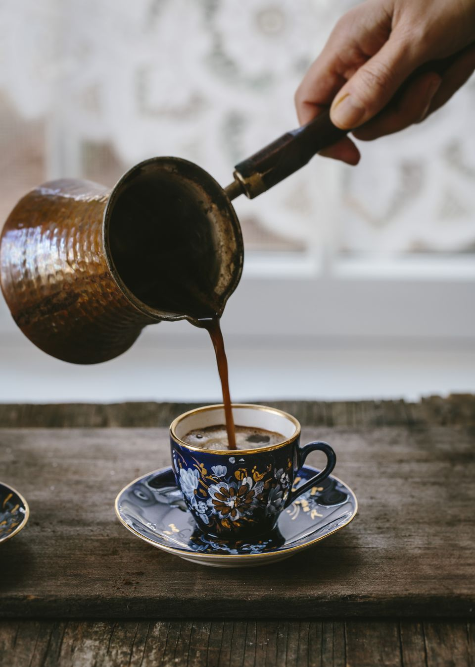 Qahwa or Turkish coffee. Image credit The Picture Pantry.