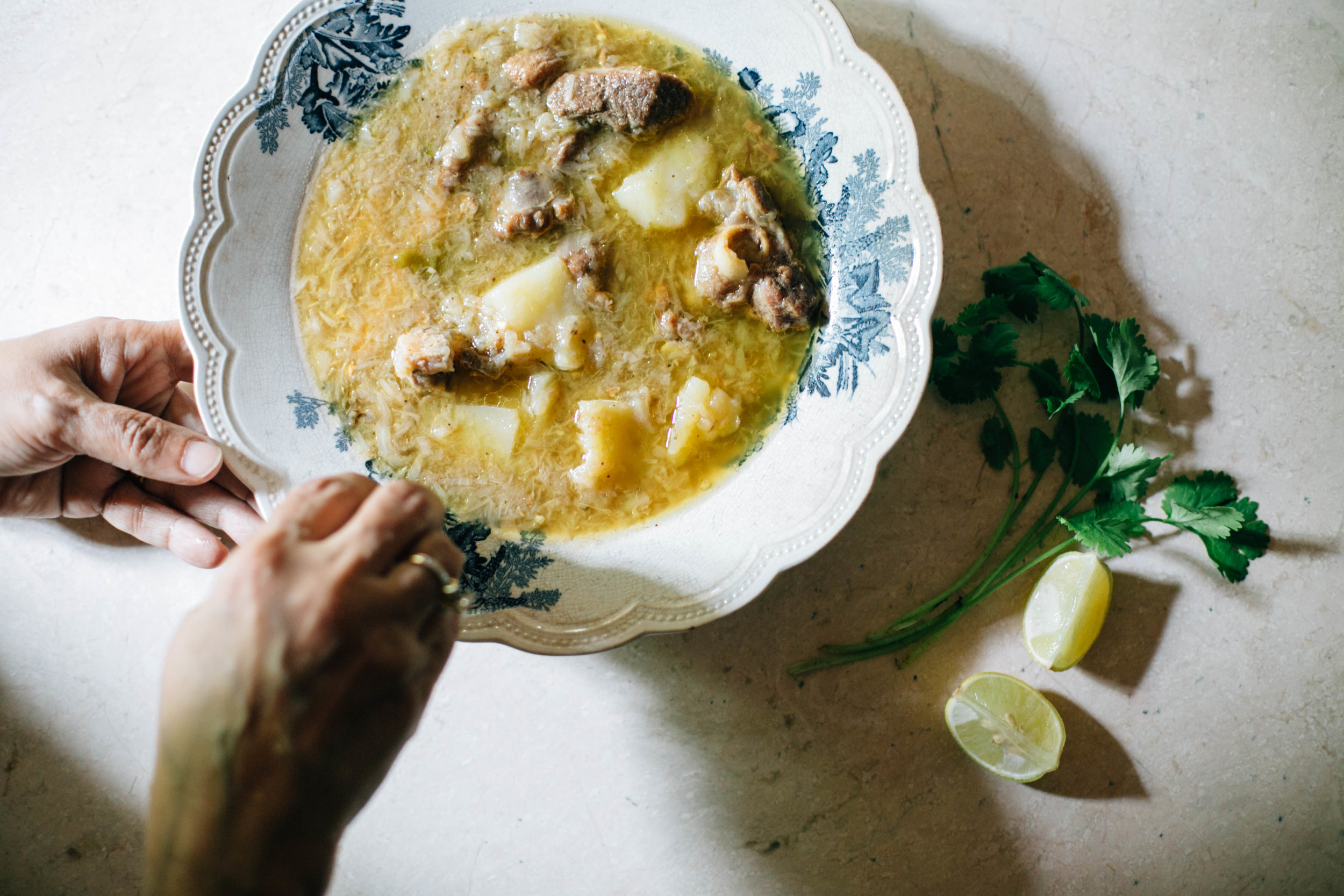 Recipe for Mappila mutton stew for #1000Kitchens