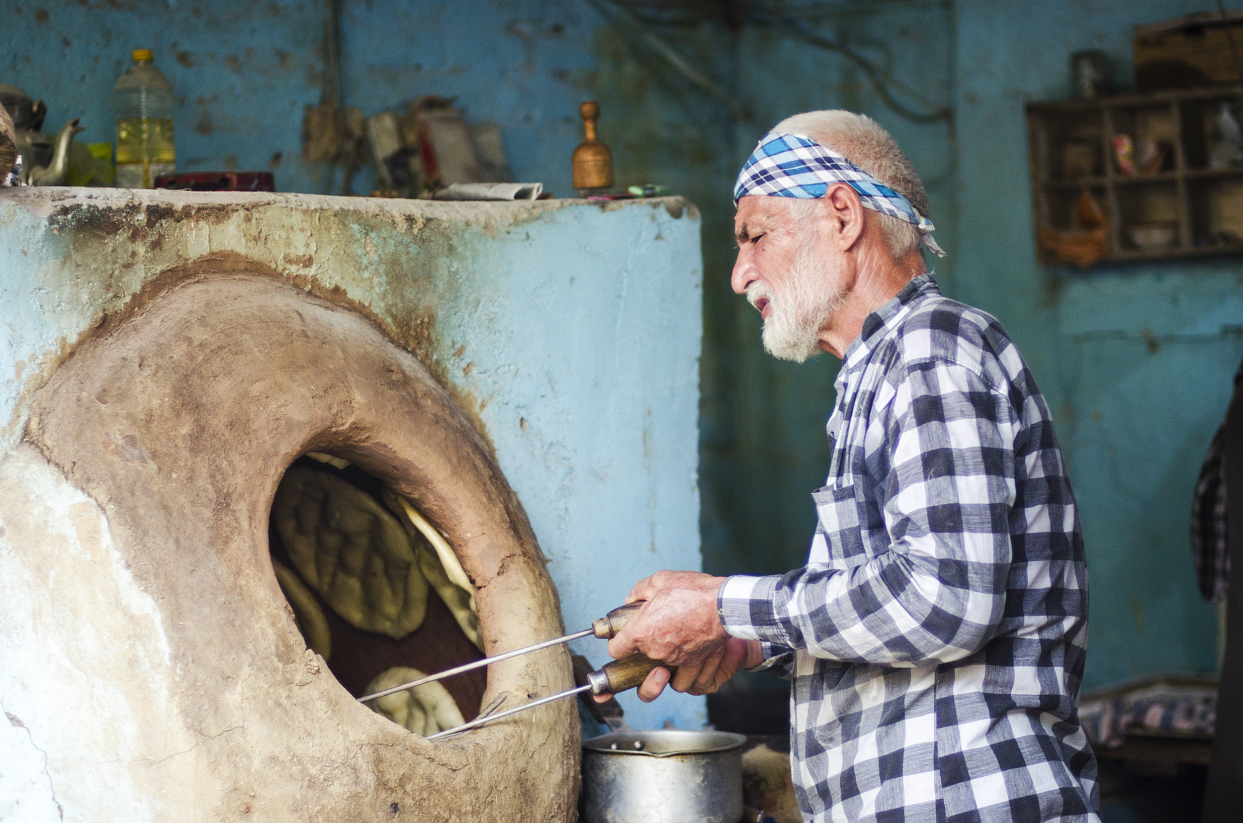 Afghan Bakery in Lajpat Nagar market, Delhi