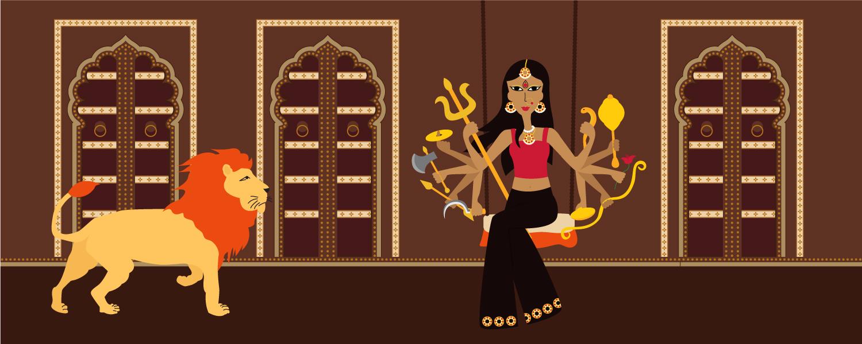 Goddess Durga, Durga Pooja, Calcutta