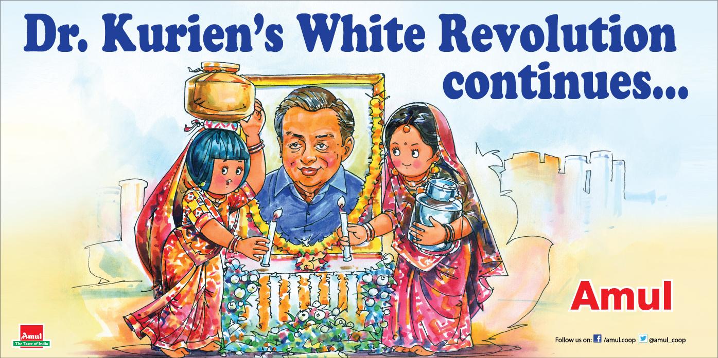 The National Dairy Development Board's White Revolution | Amul