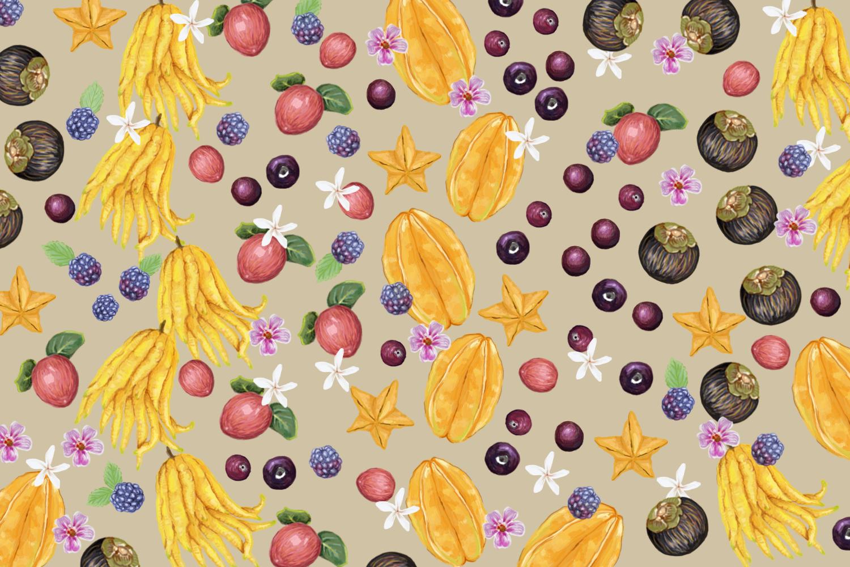 Native Indian fruits by Simrit Malhi