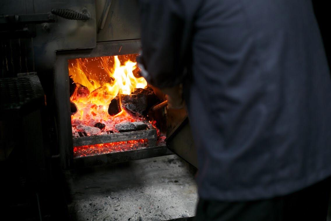 The kitchen at Smoke Co. Bengaluru