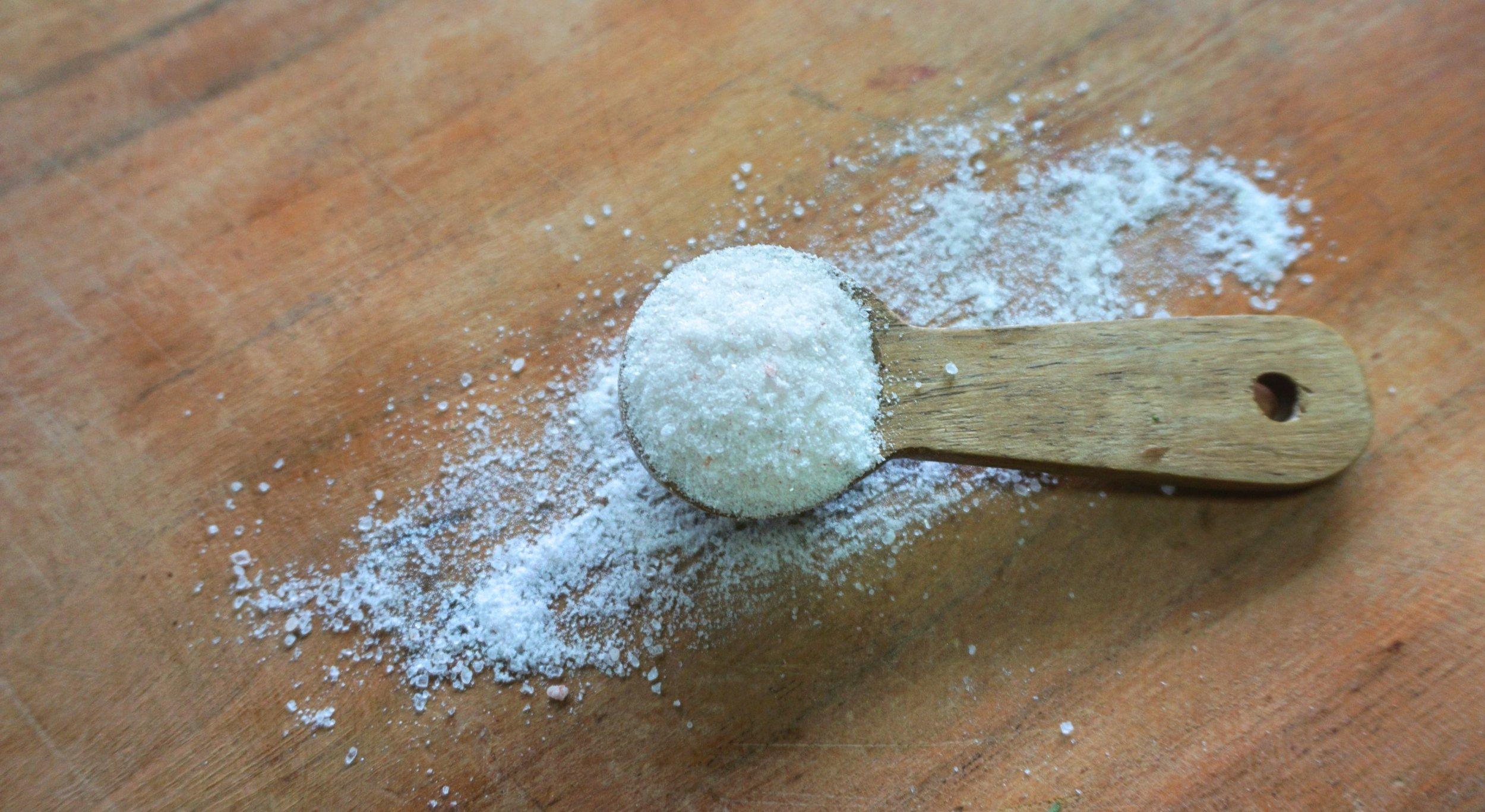 Rock Salt. Photo by  Conscious Food.