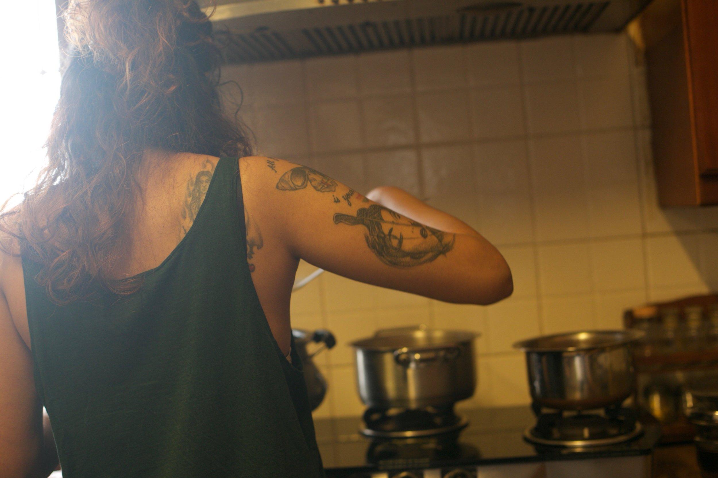 Jeet Thayil and Tia Anasuya cook in their Bengaluru residence for #1000Kitchens