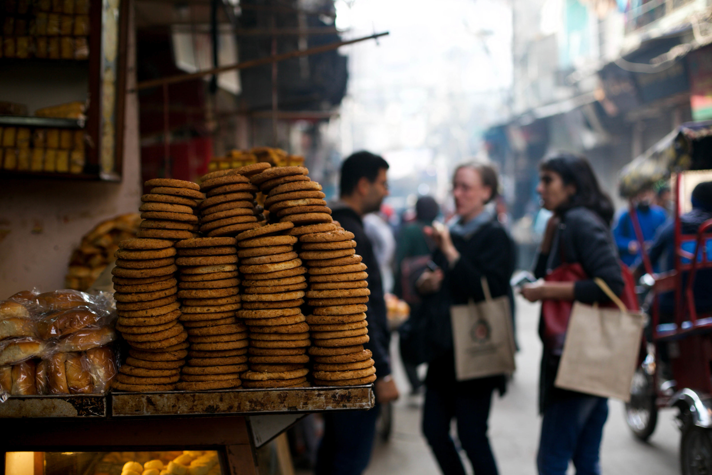 A walk through the gullies of Chandni Chowk means seeing the streets slowly awaken, and experiencing immersively the noise and chaos of hundreds of different livelihoods in the oldest parts of the capital.