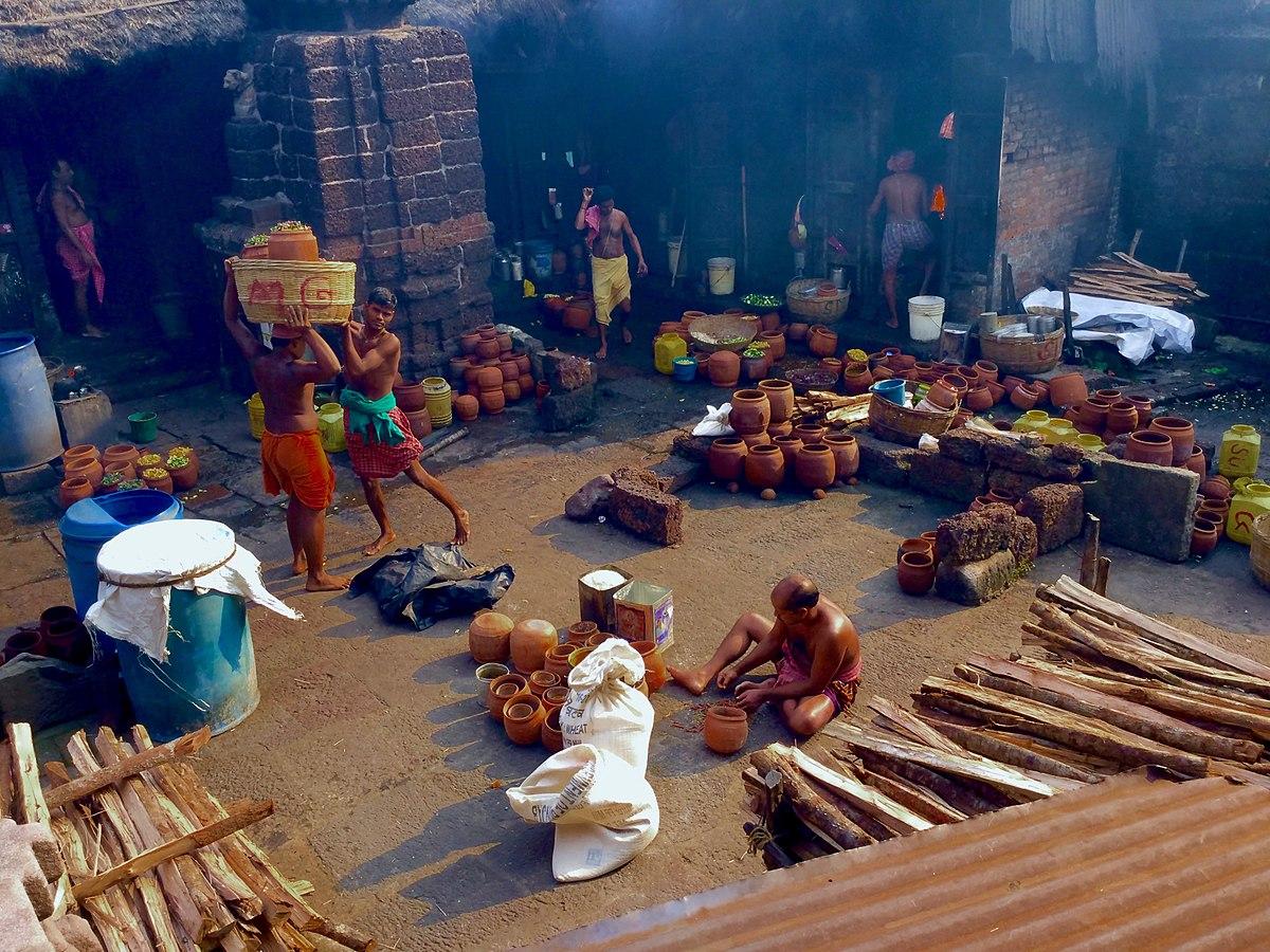 Mahaprasad preparations at Jagannath temple in Puri, Odisha |Wikimedia Commons,Prateek Pattanaik