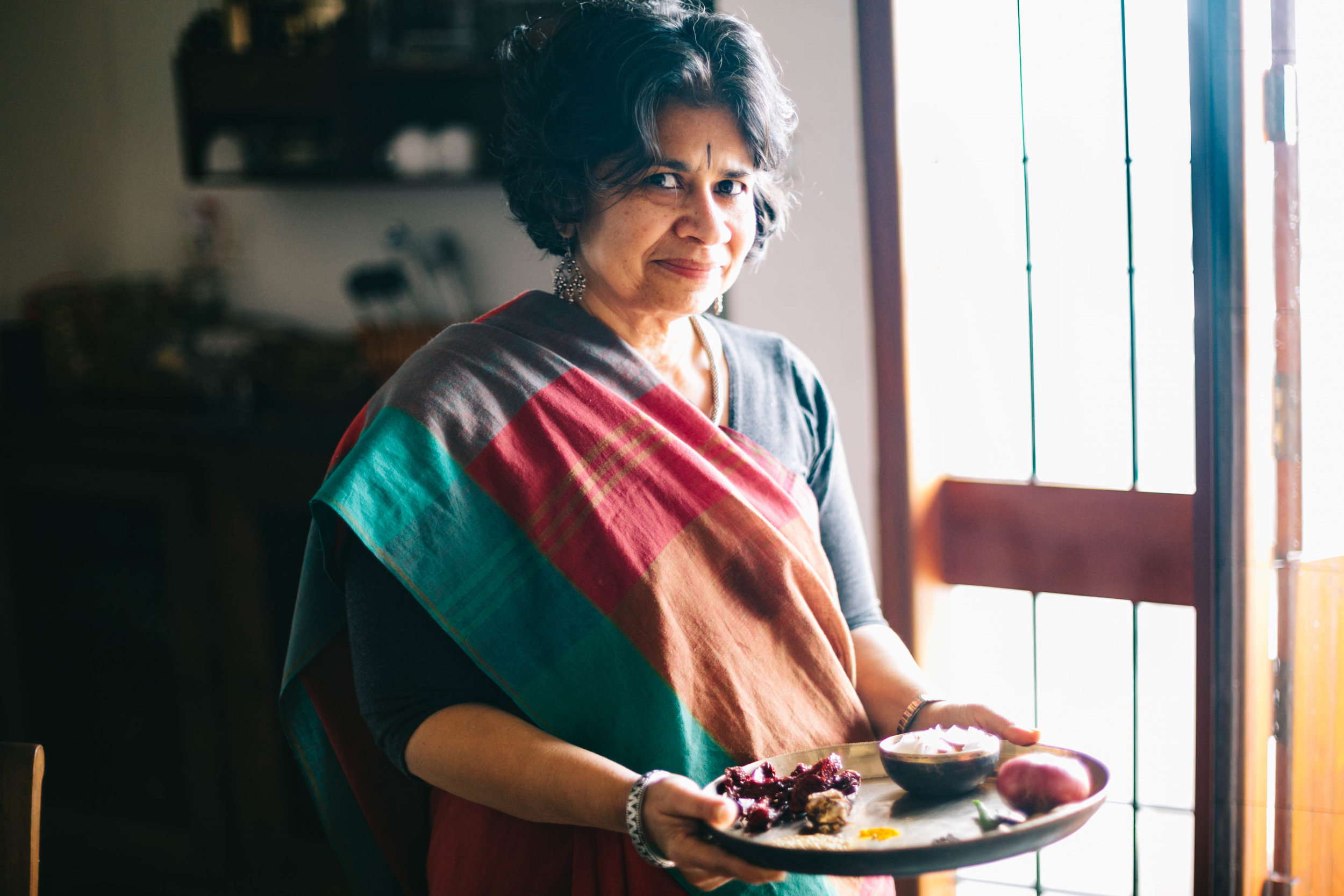 Jenny Pinto makes Mangalorean fish curry in her home in Bengaluru for #1000Kitchens