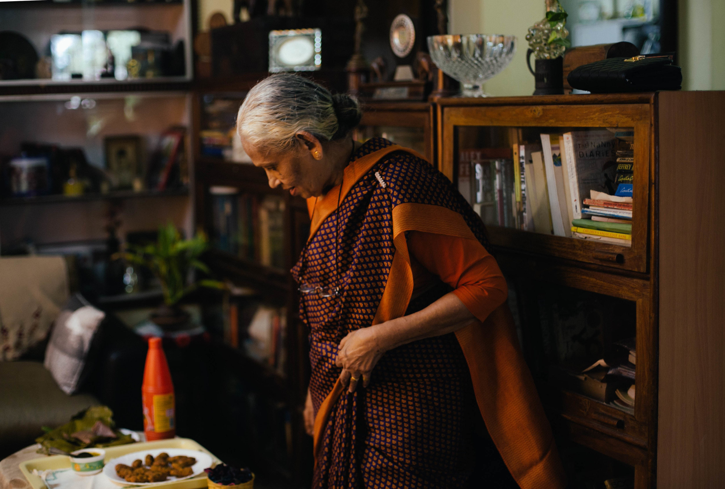 Ummi Abdulla, cookbook author and authority on Mappila food, in her home in Kozhikode