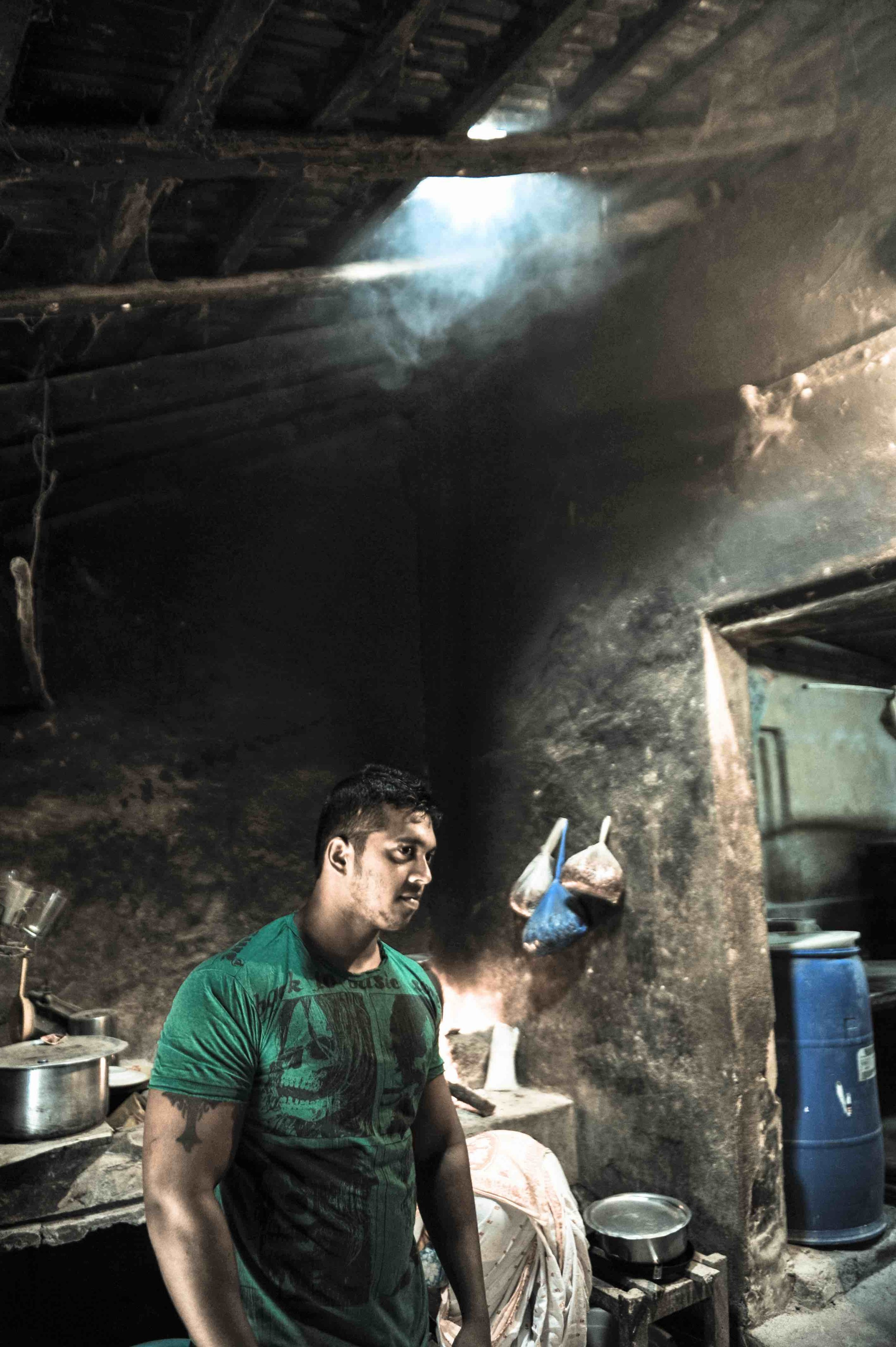Most bakeries are family run businesses. Joe, a third generation baker, manages the bakery along with his father, taking care of stocks, shift timings and occasionally stepping in to manage the oven when they are short staffed.  Shot in Pereira Bakery, Caranzalem, 2014