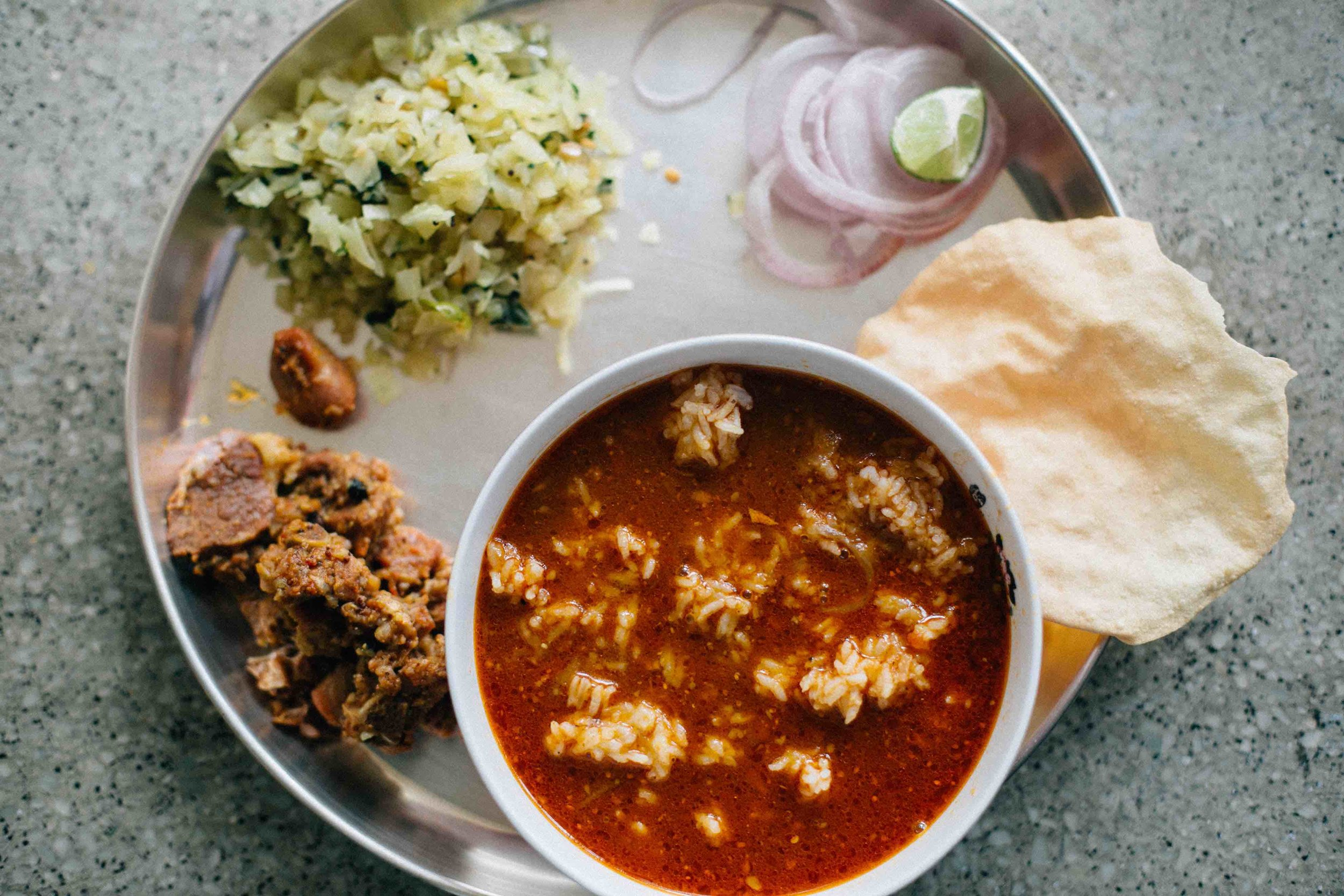 Ceylon curry recipe or mutton rasam for #1000Kitchens | Arathy Madappa, Bangalore