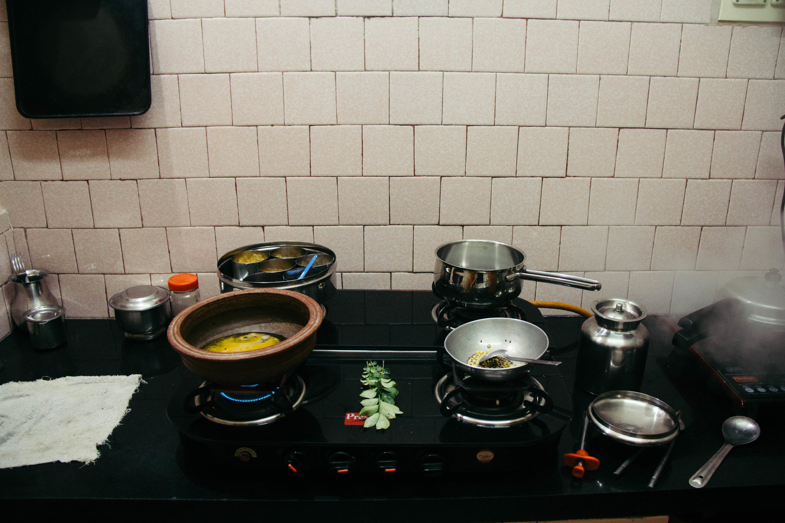 Recipe for Vazhapu Kootu or banana flower stew