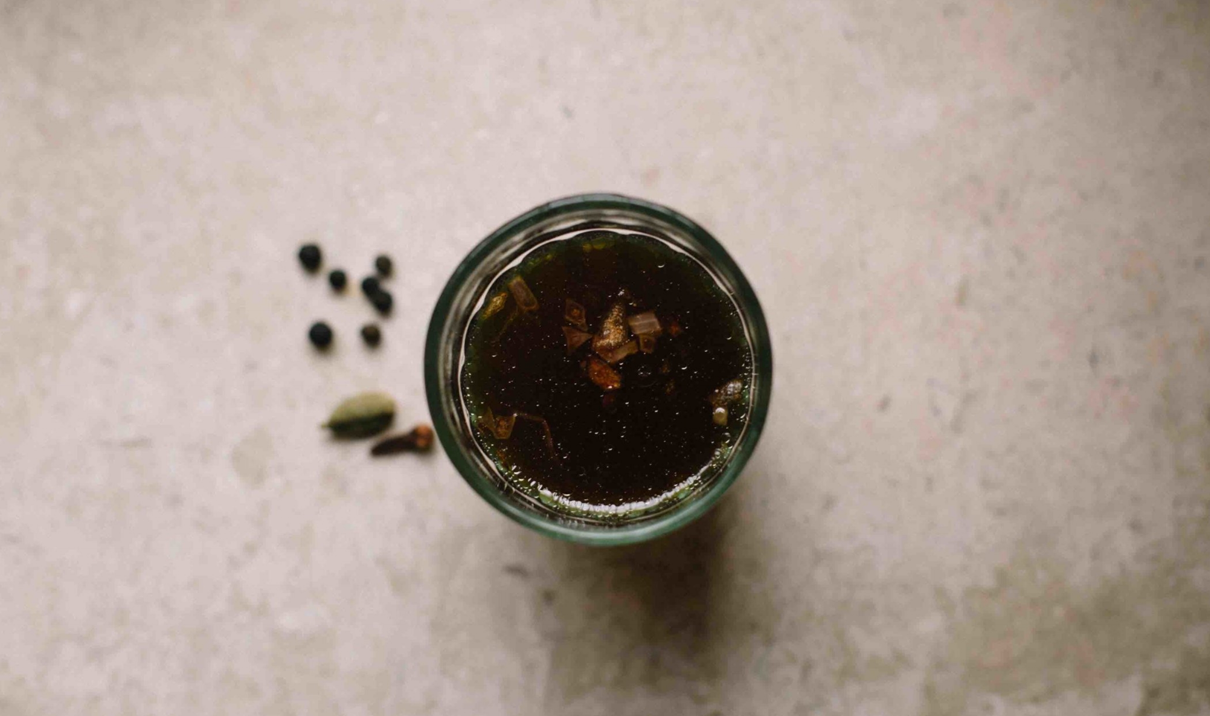 Recipe for kava from north Kerala -- a coffee drink that has onions, pepper and ghee