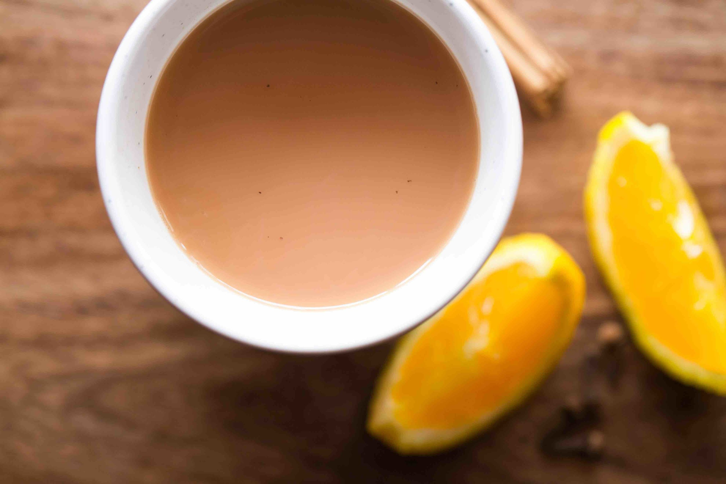 Recipe for orange spiced tea with cinnamon and cloves: Goya recipe contest winner