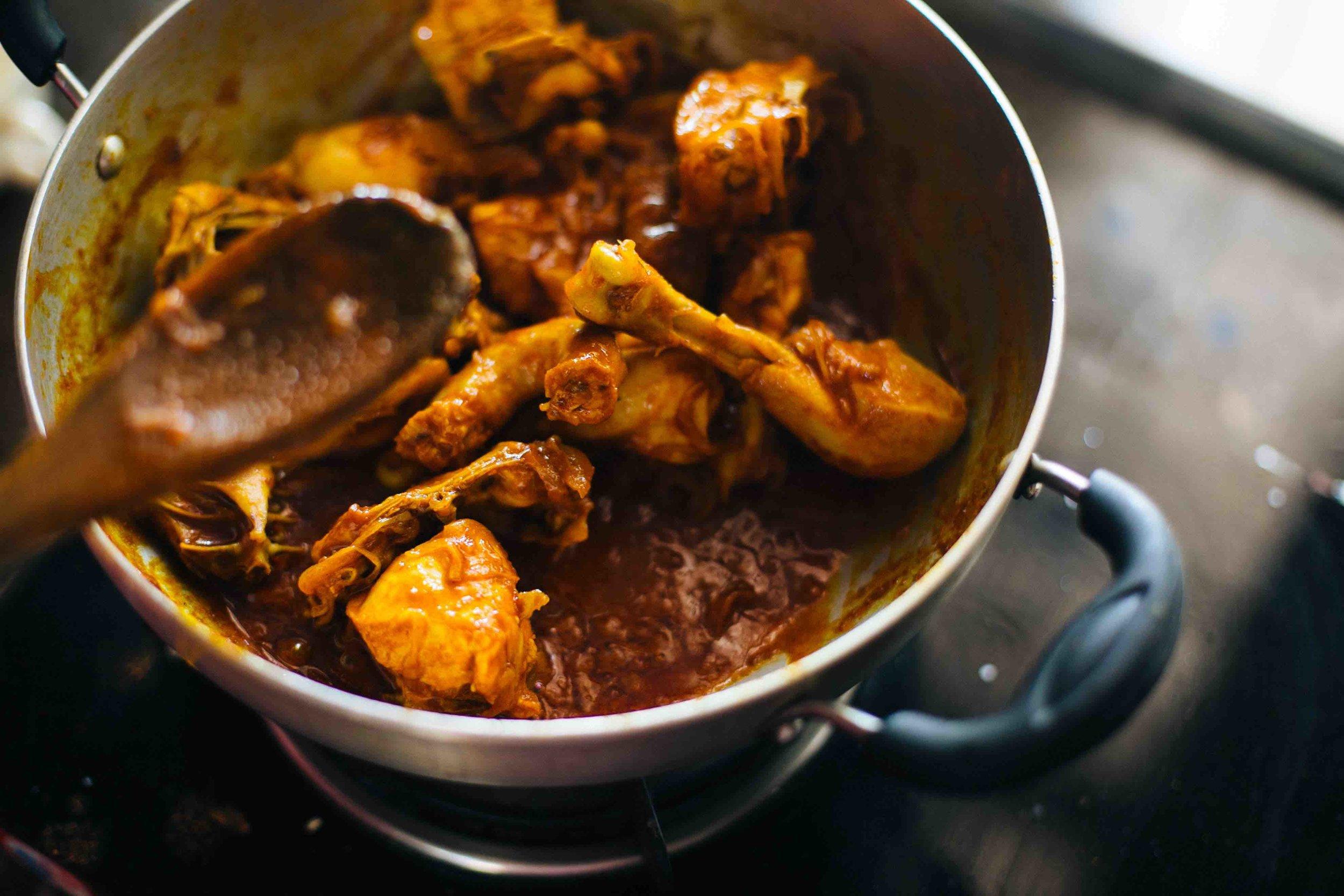 1000Kitchens Rafia Mappila chicken fry recipe