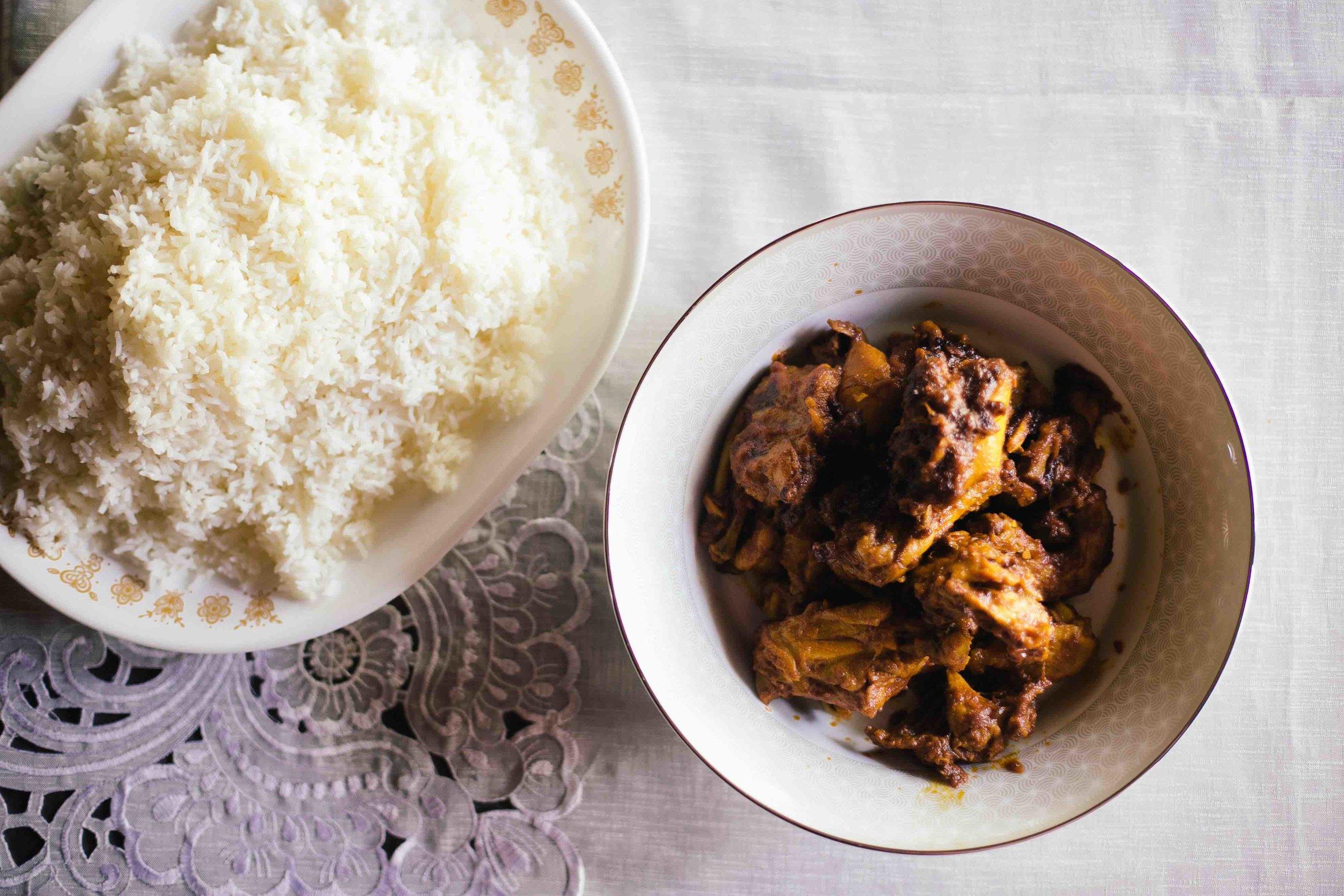 Authentic Kerala neichoru or ghee rice