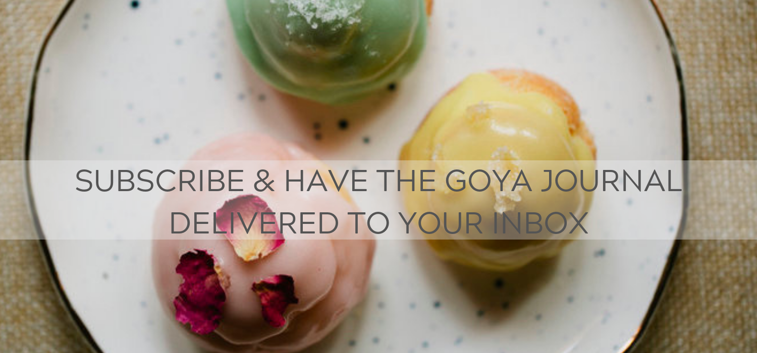 Subscribe to The Goya Journal