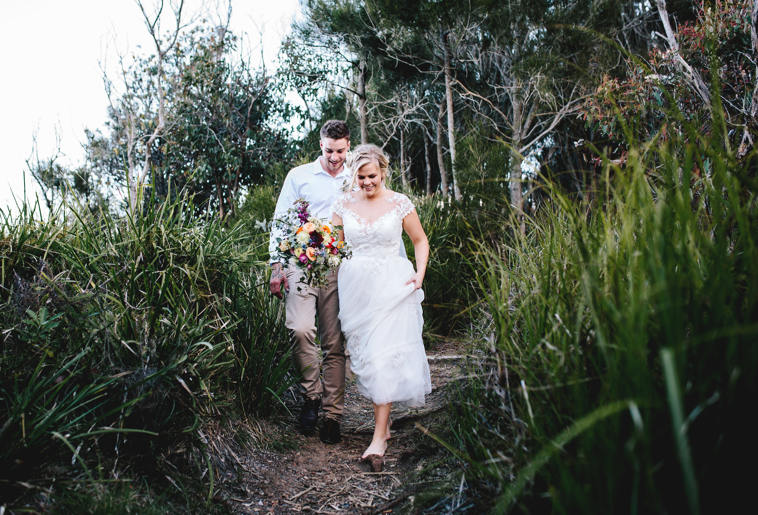 Hills District, Sydney Wedding photography - boho bride