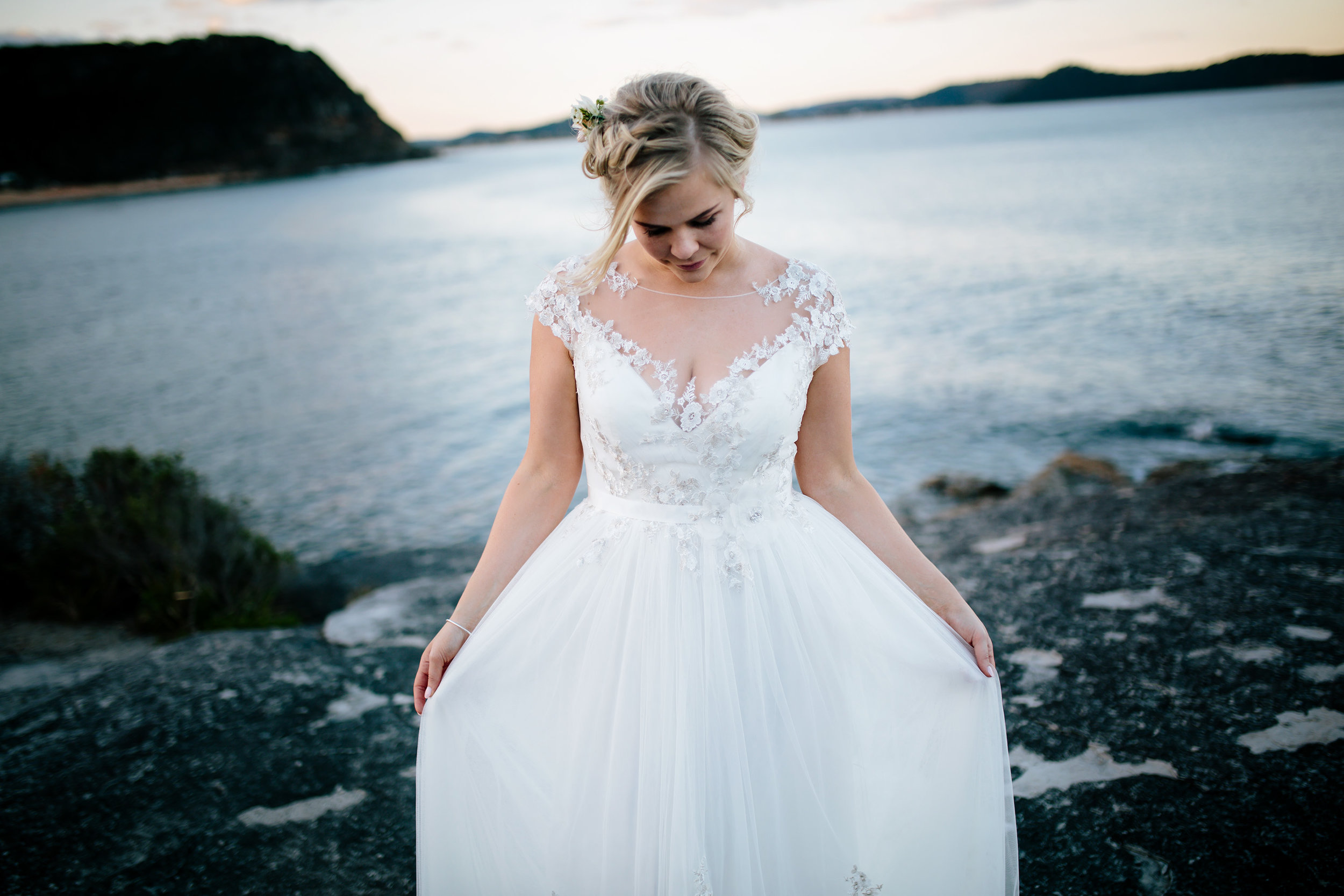 Hills District, Sydney Wedding photography - the dress