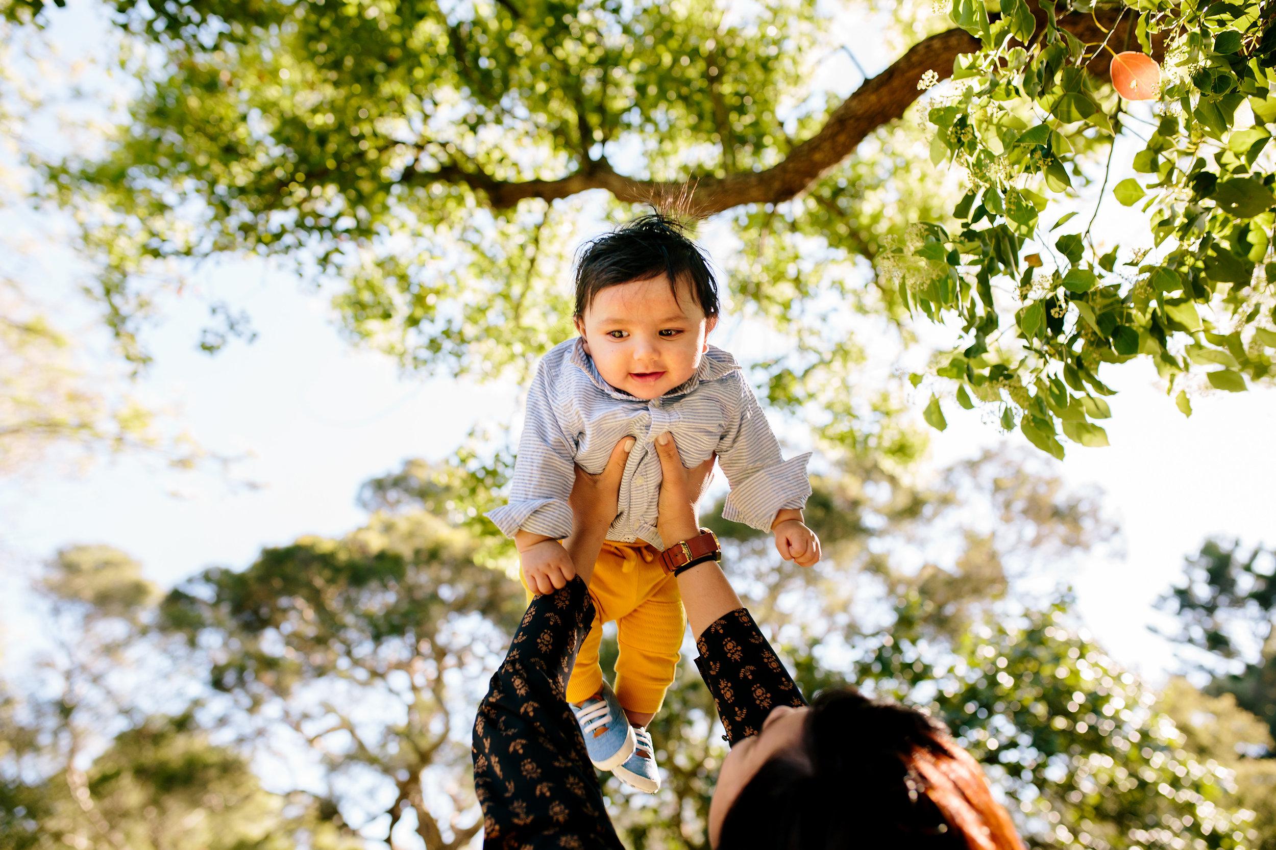 little man flying