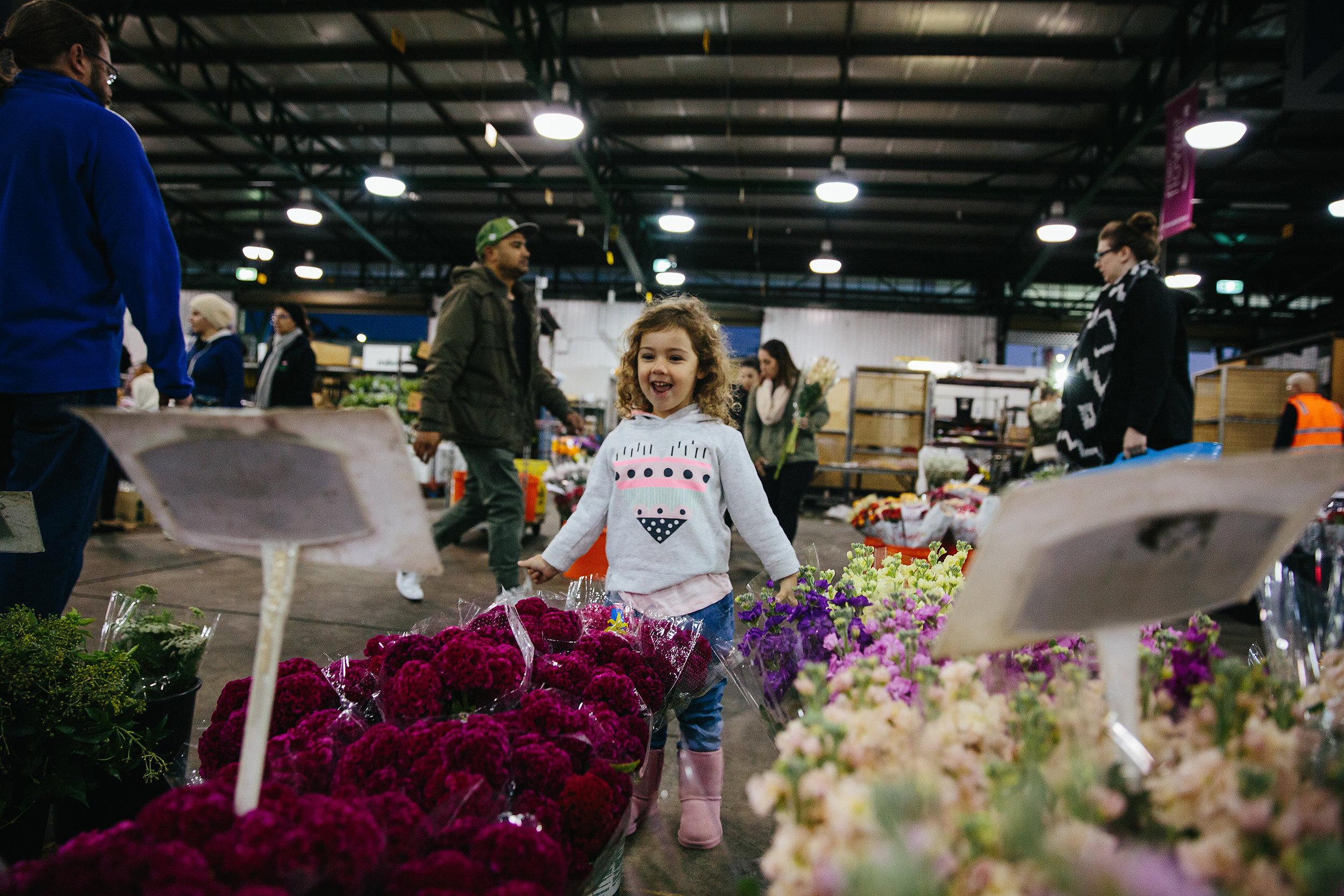 Hills District Photographer | Flower Markets