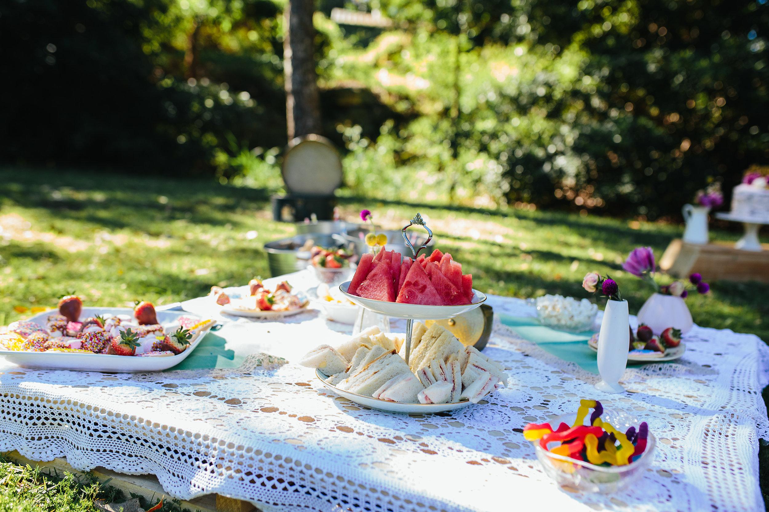 Pallet table | garden party