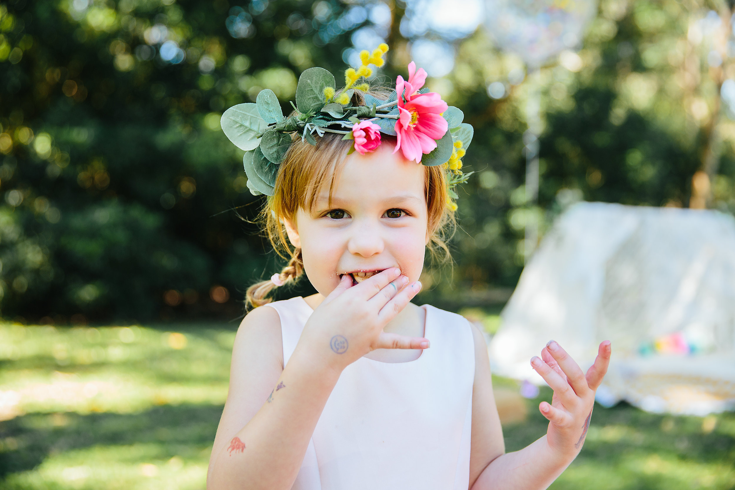 Flower crown | Lauren Kennedy Photographer