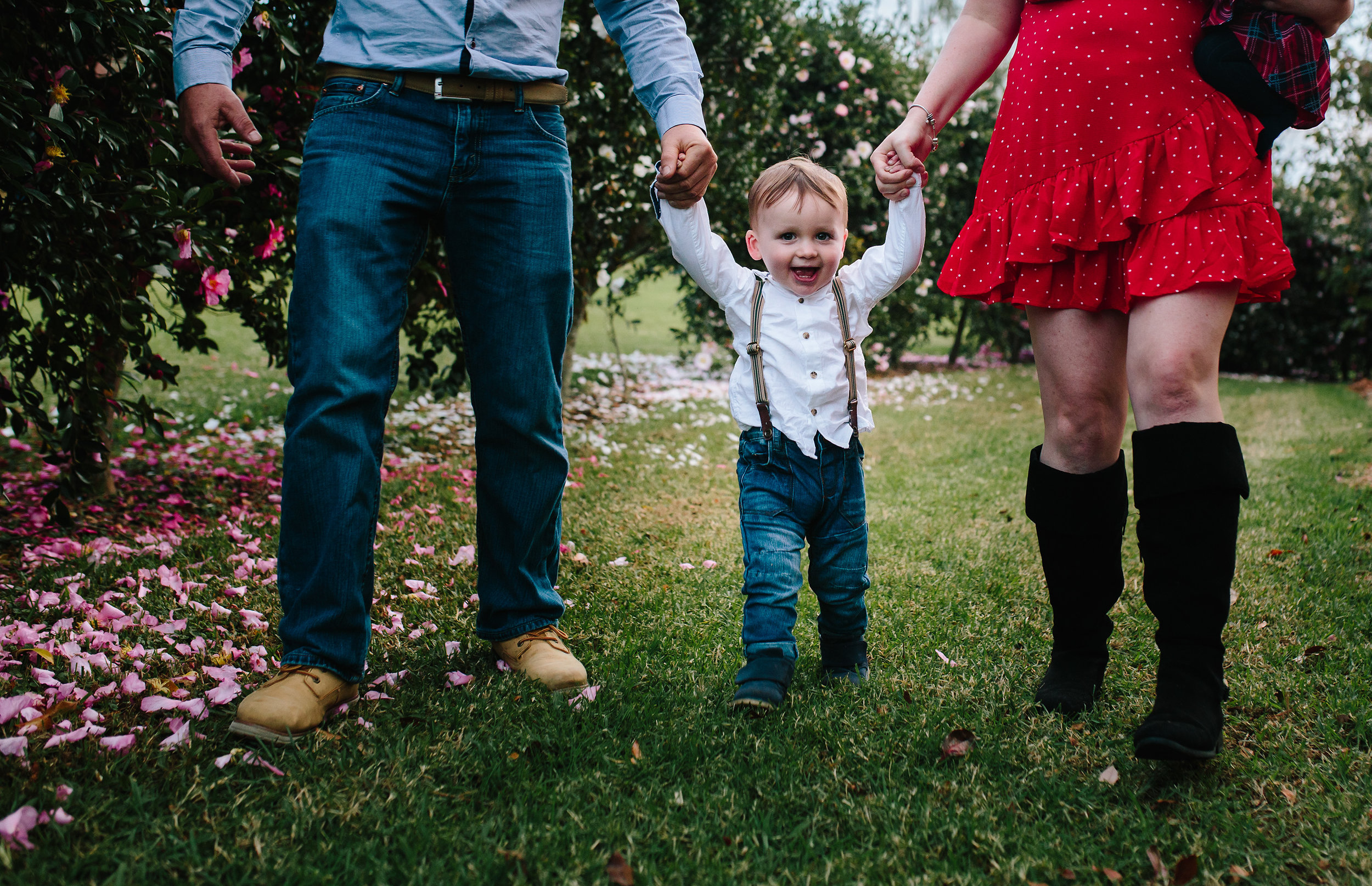 Toddler walking | Hills District Family Photographer