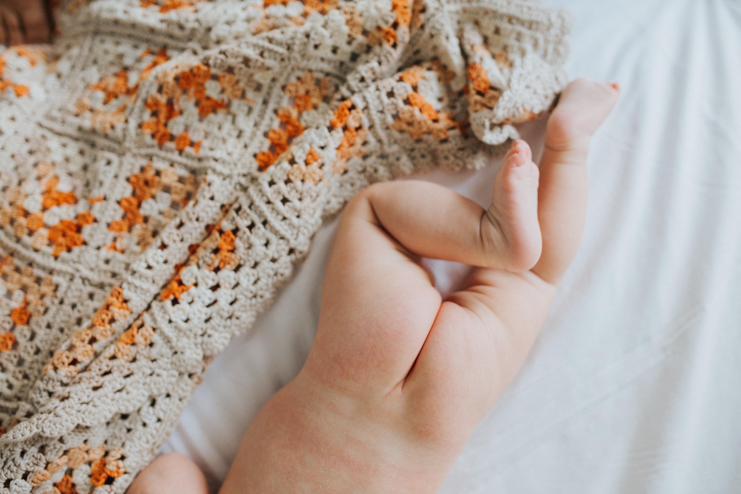 Bare bottom   Hills District newborn photographer