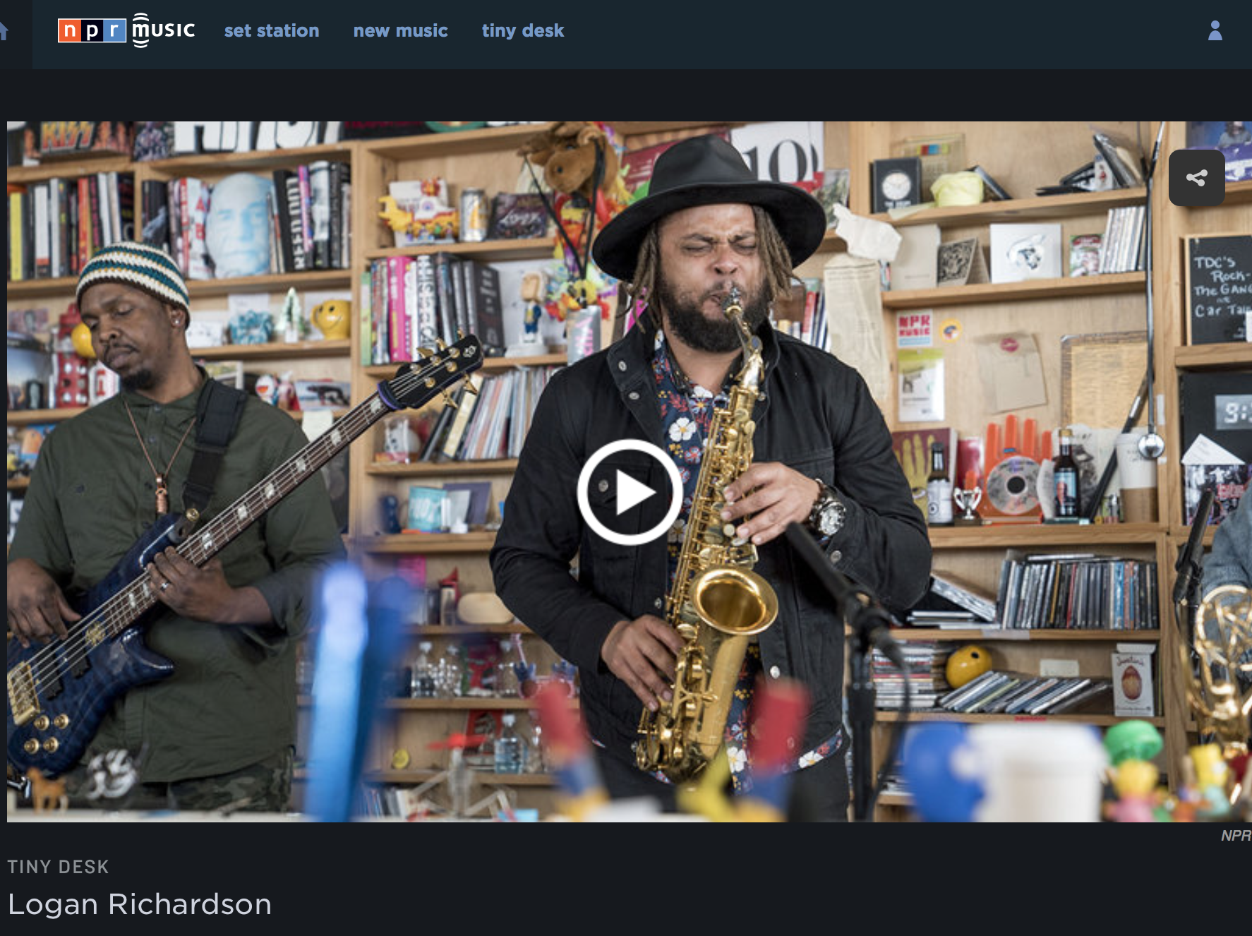 blues PEOPLE on NPR MUSIC TINY DESK CONCERTS -
