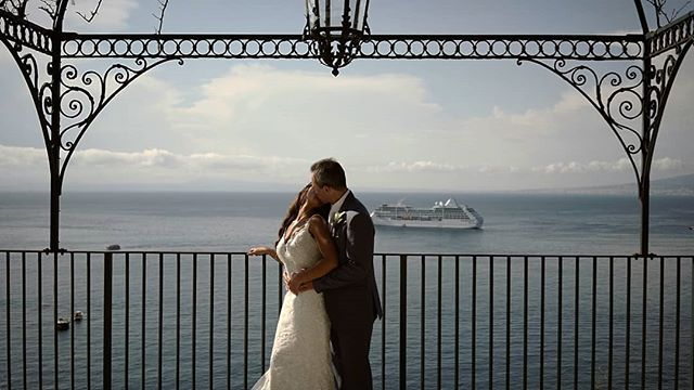 H&G - Love in Sorrento  Great working with: Wedding planner: @bella_sposa Photography: @pippacarvellphotography