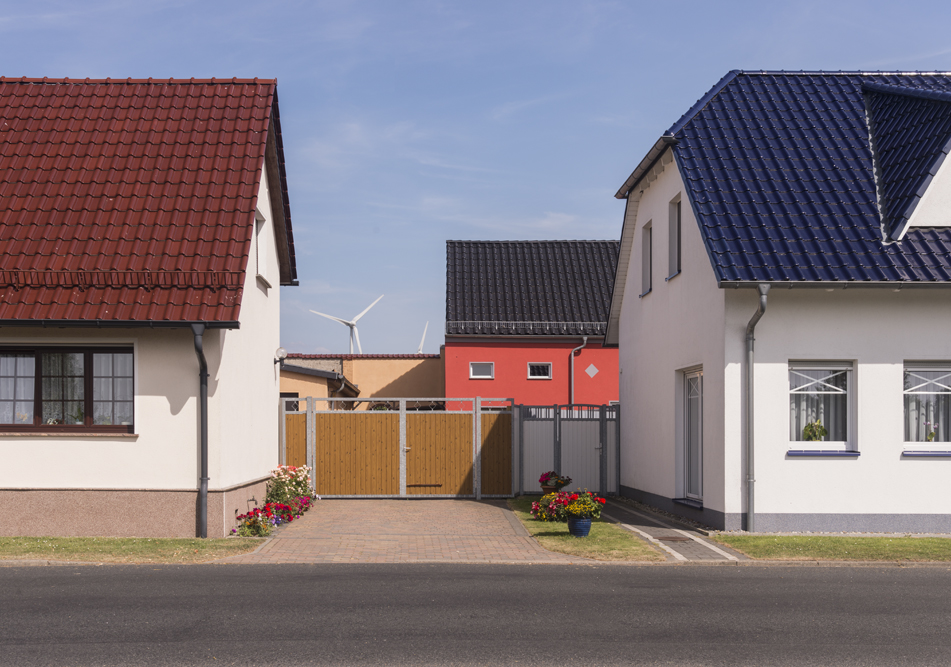 Felheim renewable energy village, Brandenburg, Germany