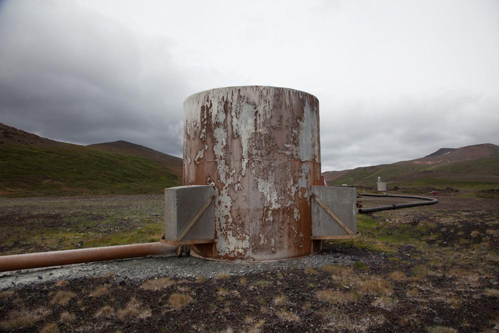 Geothermal Power Plant, Krafla, Iceland