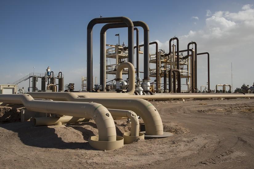 Geothermal Plant, Palm Springs, California, USA, 2015