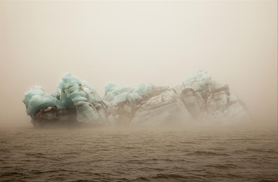 Ice Mountain II, Jökulsárlón Lake, Iceland