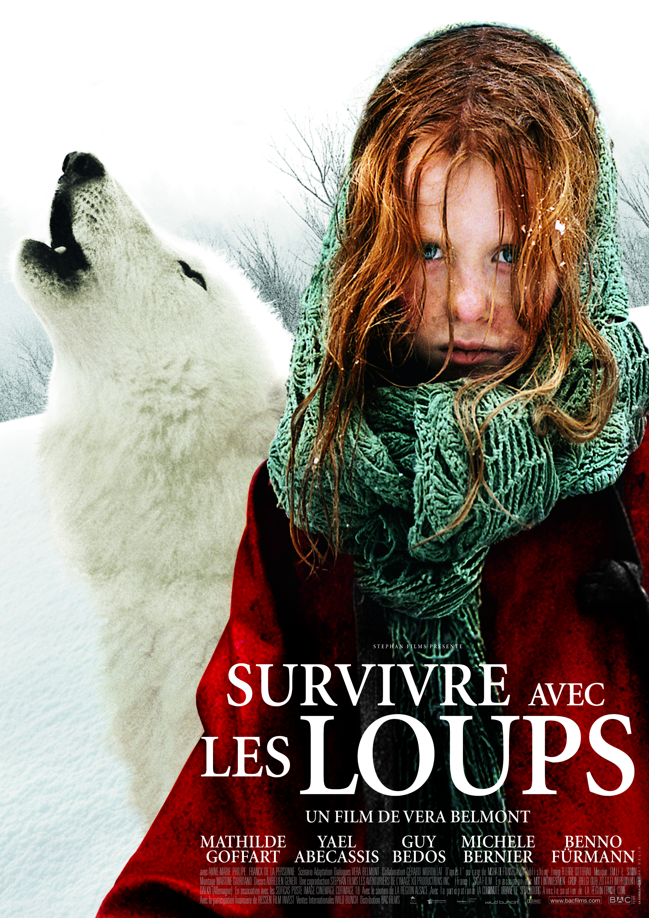 Surviver with wolves