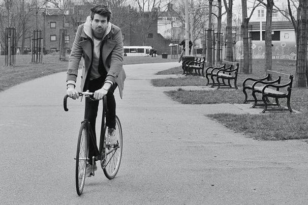 Exploring London on my bike