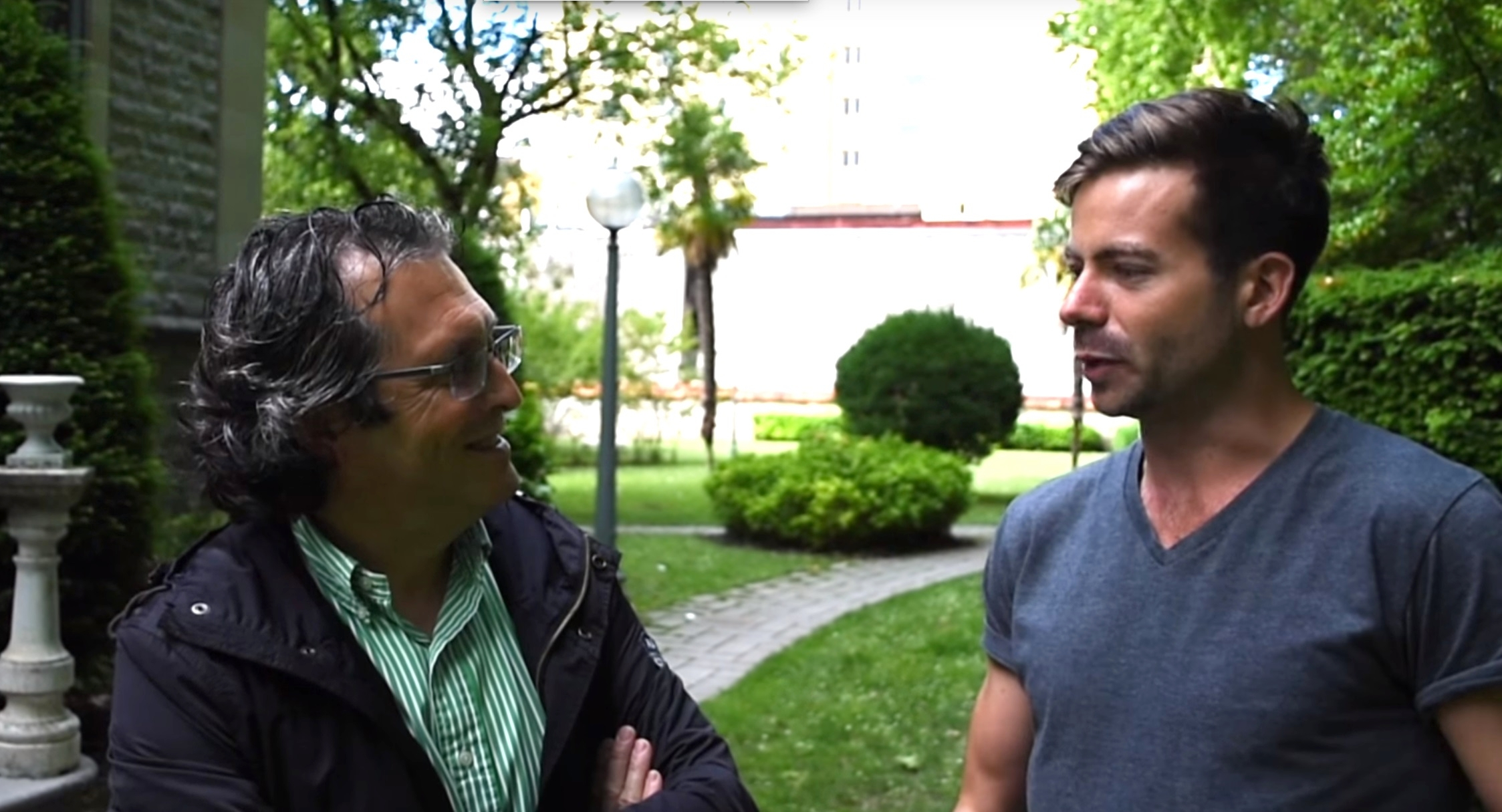 Interviewing Juan Carlos, Director of the Environmental Studies Centre