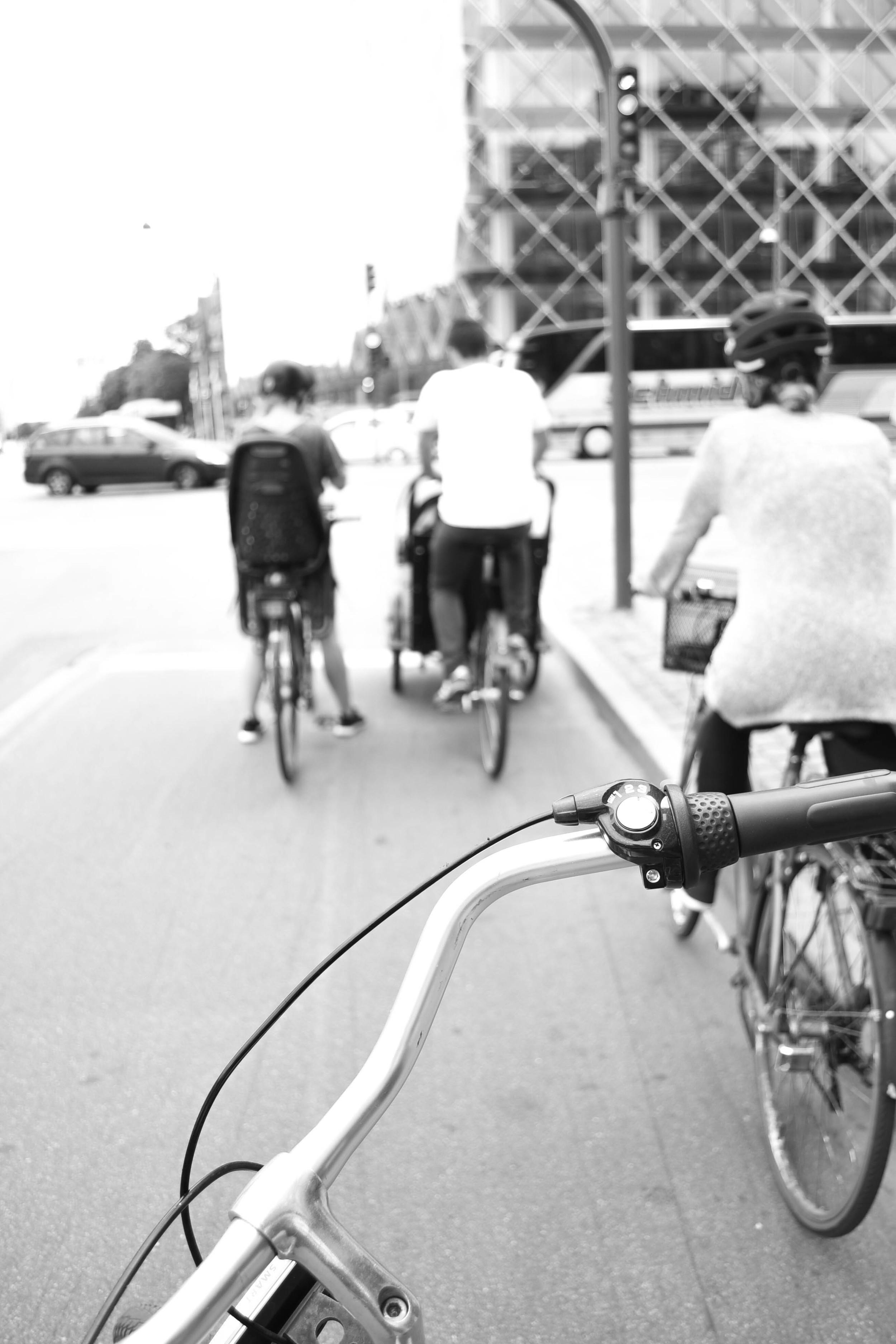 Traffic congestion. Copenhagen-style.