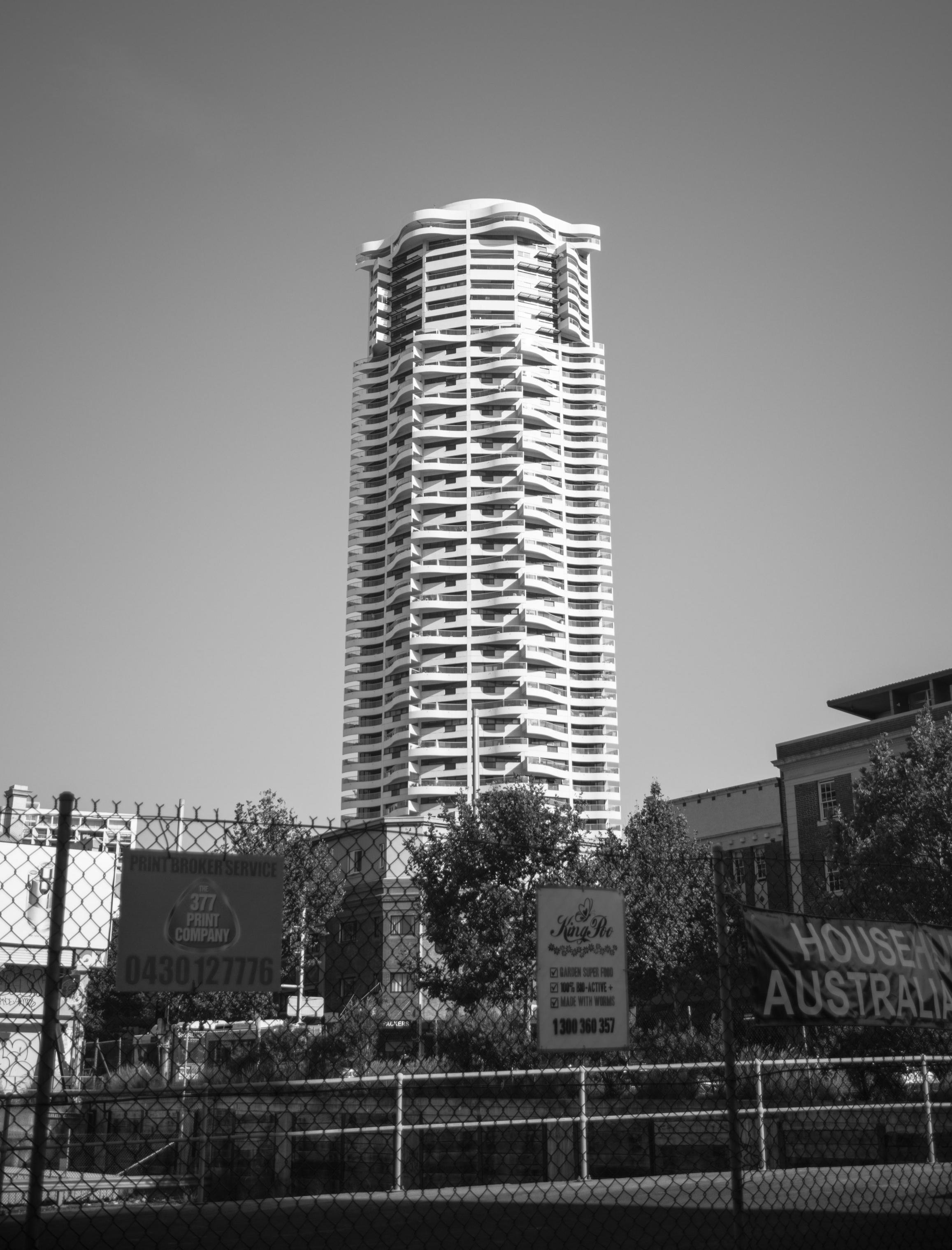 Horizon Apartments in Darlinghurst, Sydney (1990-1998).