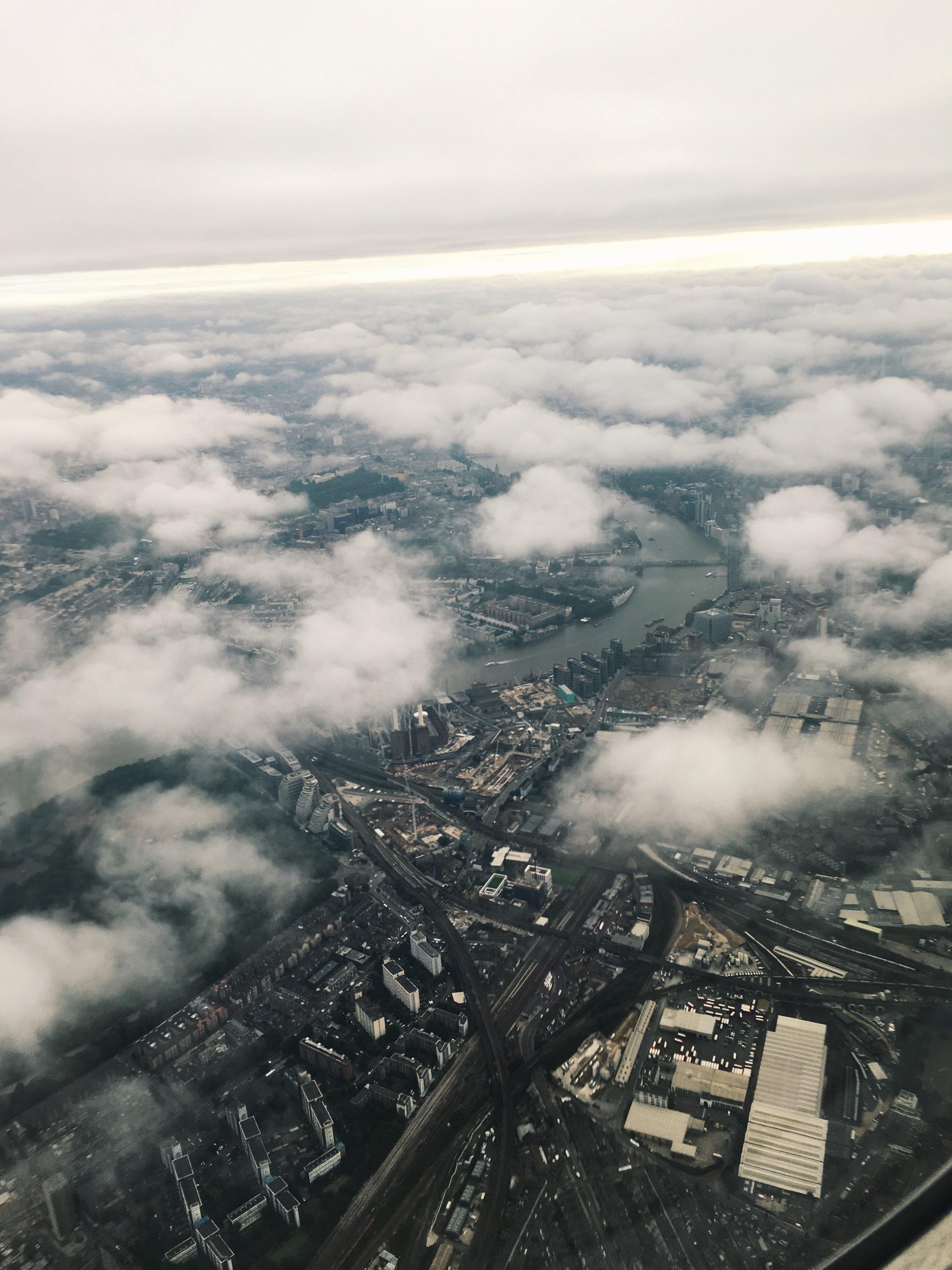... Arriving in Londres :-)
