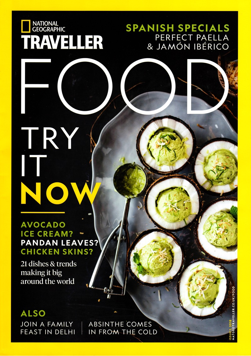 National Geographic Food Cover Photography