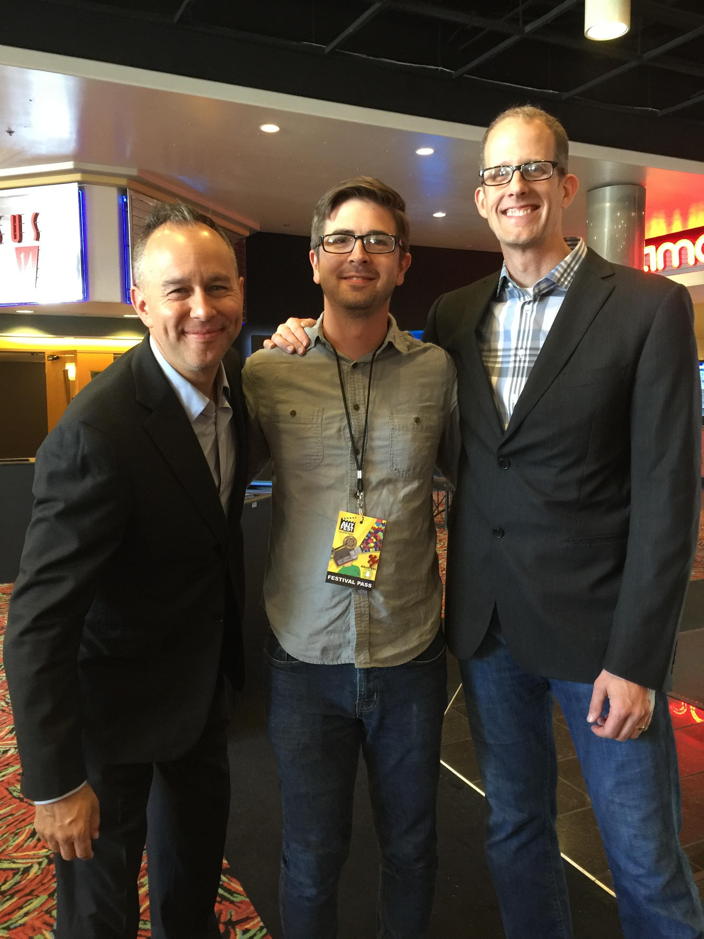 Pixar's Jonas Rivera & Pete Doctor