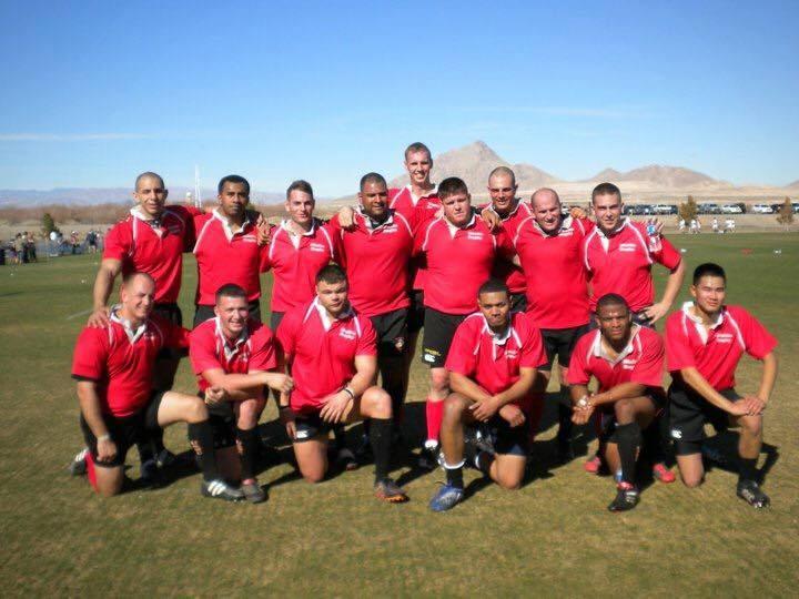 With the Camp Lejeune Misfits-2011 Las Vegas