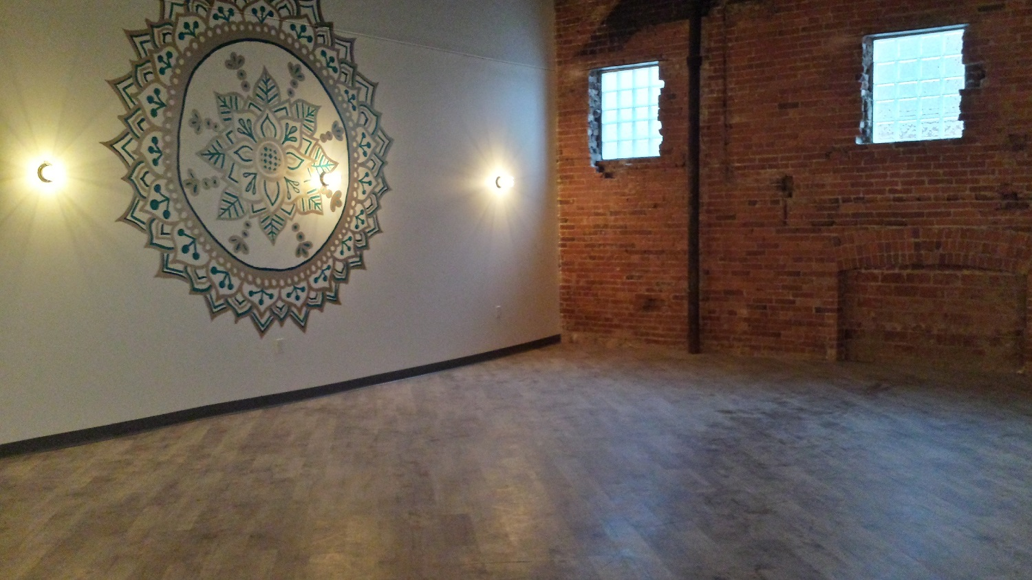 Yoga Room Completed!