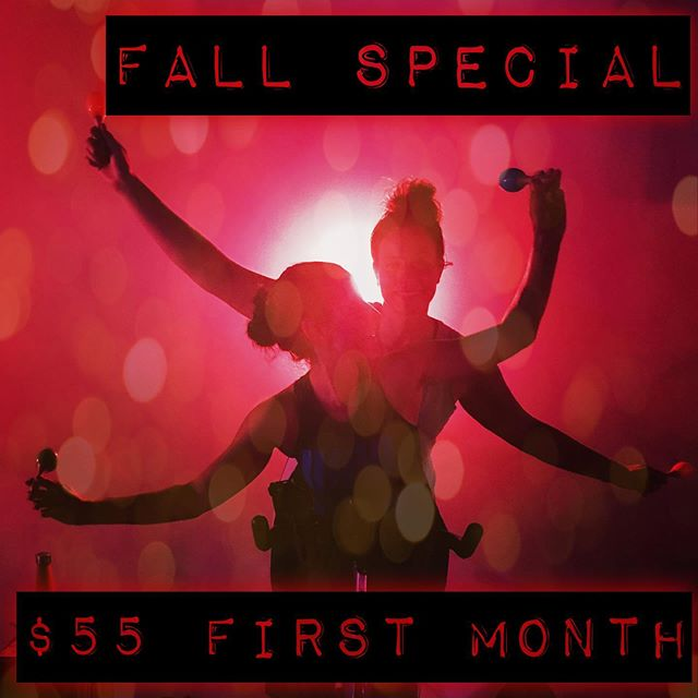 It's back 🐺 pack! We're starting our fall special NOW. It's the perfect time to get back into our unlimited package or try us out for the first time. New classes starting soon! TAG YOUR FRIENDS! #movementissocial #pittsburghfitness