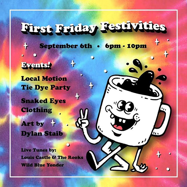 If you haven't been to First Friday yet, you're missing all the fun. Come check out what Homestead has to offer. This is just what's going on at @steelvalleyroasters and Local Motion. There's so much more in every business. #movementissocial #homesteadfirstfridays
