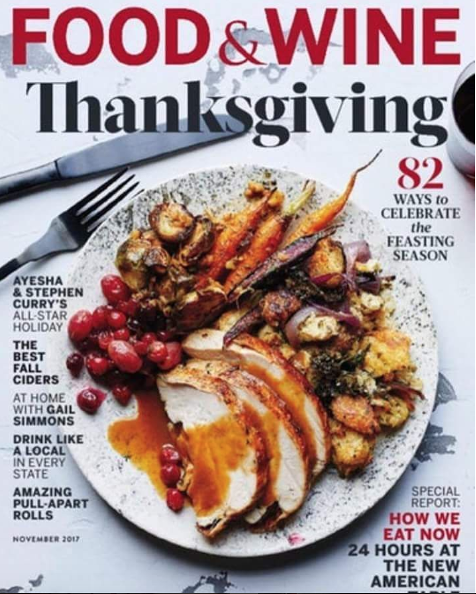 Food and Wine Magazine 2017