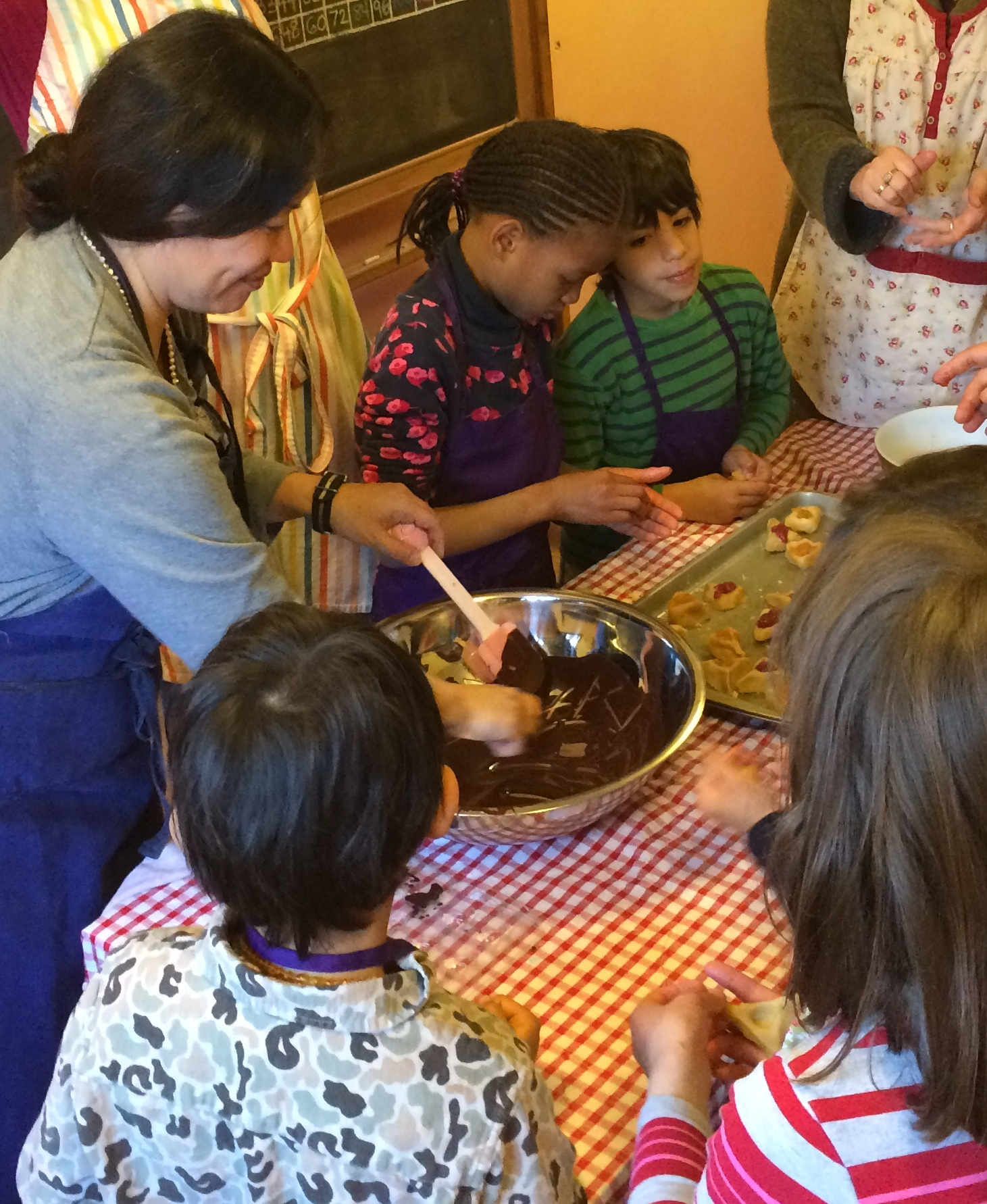 Cooking for Kids class