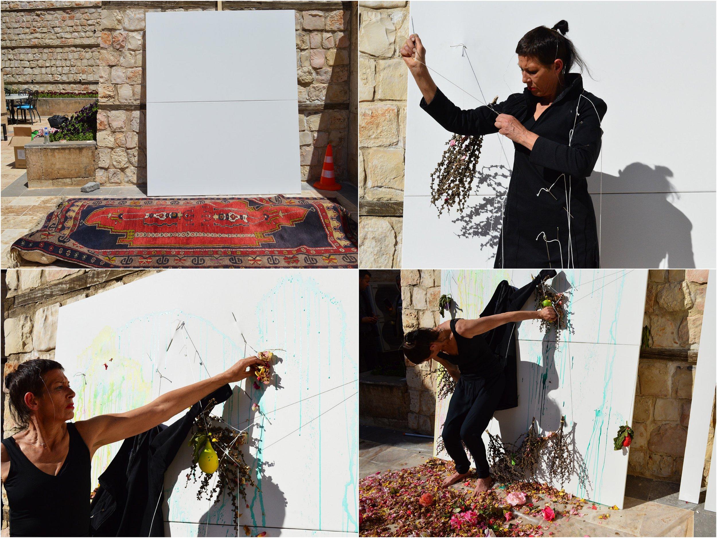 Live Performance - Bestow - , Adiyaman,  Galerie Keles Konagi , Turkey 2018 photographed by Sarah Strassmann